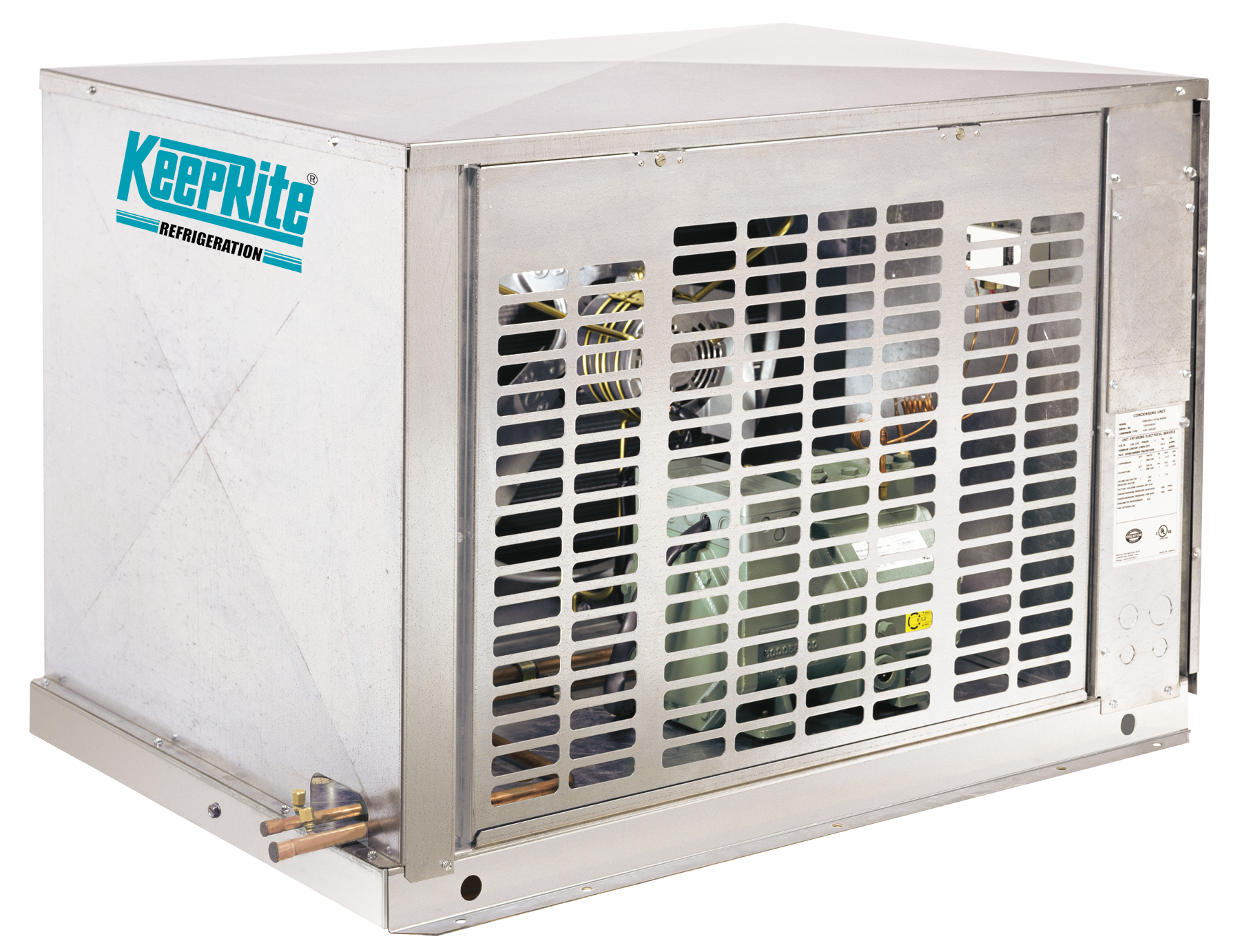Air Cooled Semi Hermetic Condensing Units Keeprite Refrigeration #079BB2