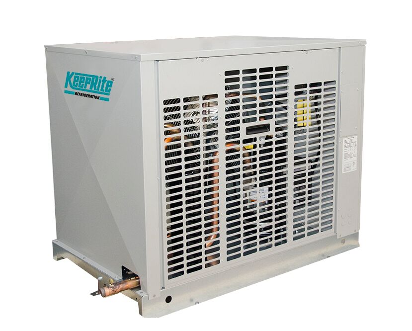 kez indoor outdoor air cooled scroll condensing units keeprite rh k rp com Refrigeration Logos Heil Quaker Refrigeration