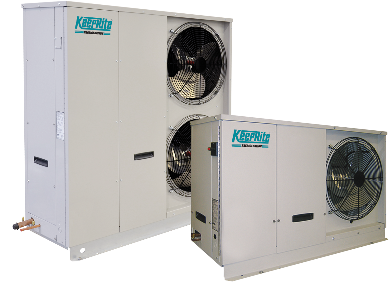kqz outdoor air cooled quiet scroll condensing units keeprite rh k rp com Refrigeration Unit Keeprite Refrigeration PDF