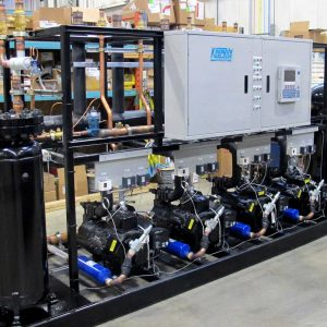 Commercial Refrigeration Parallel Racks