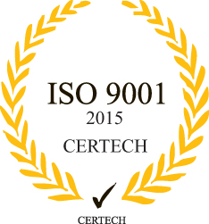 ISO 9001 2015 CERTECH