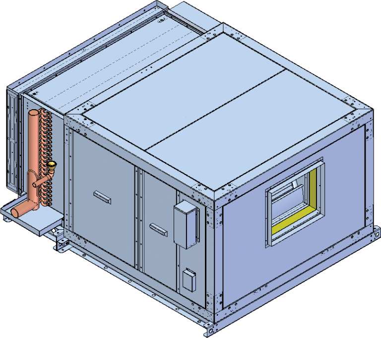 Horizontal Product Cooler
