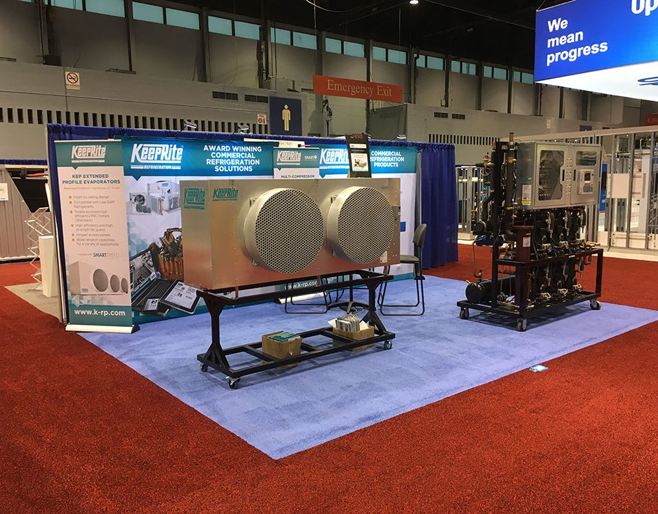 KeepRite Refrigeration Tradeshow Booth