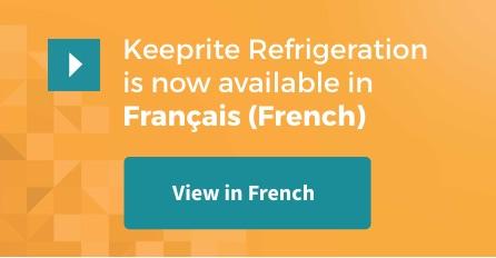 KeepRite Refrigeration en français