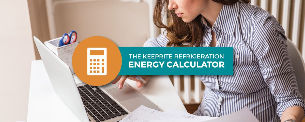 KeepRite Refrigeration Energy Calculator