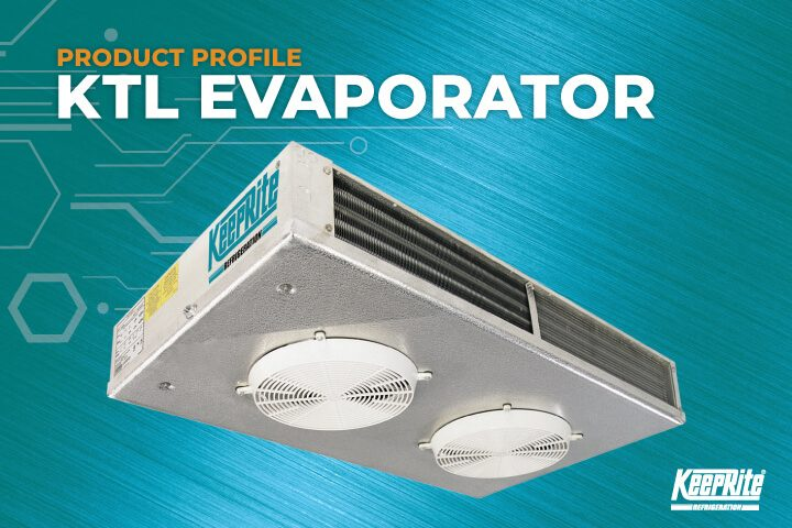 KTL Two-Way Low Profile Commercial Evaporator