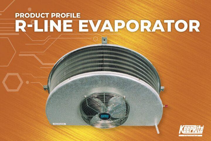 R-Line Half Round Commercial Evaporator
