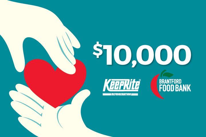 KeepRite Food Bank Donation